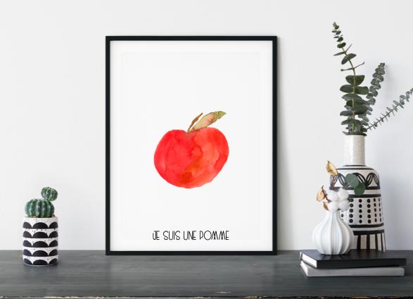 Poster Apfel