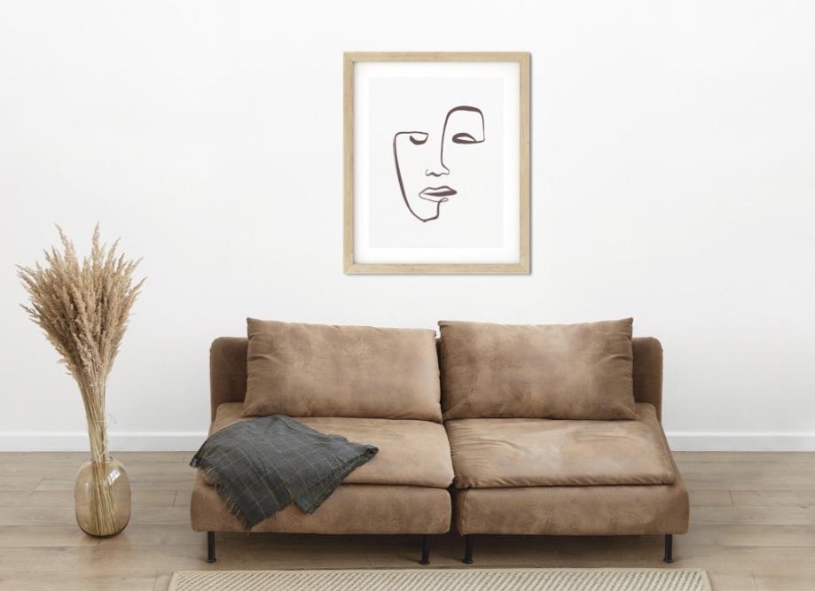 Poster Art Face