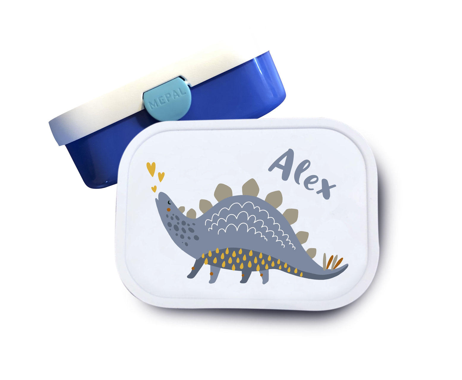 Brotdose mit Namen Dinosaurier