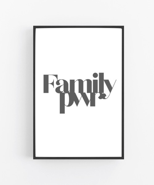 Poster Family pwr
