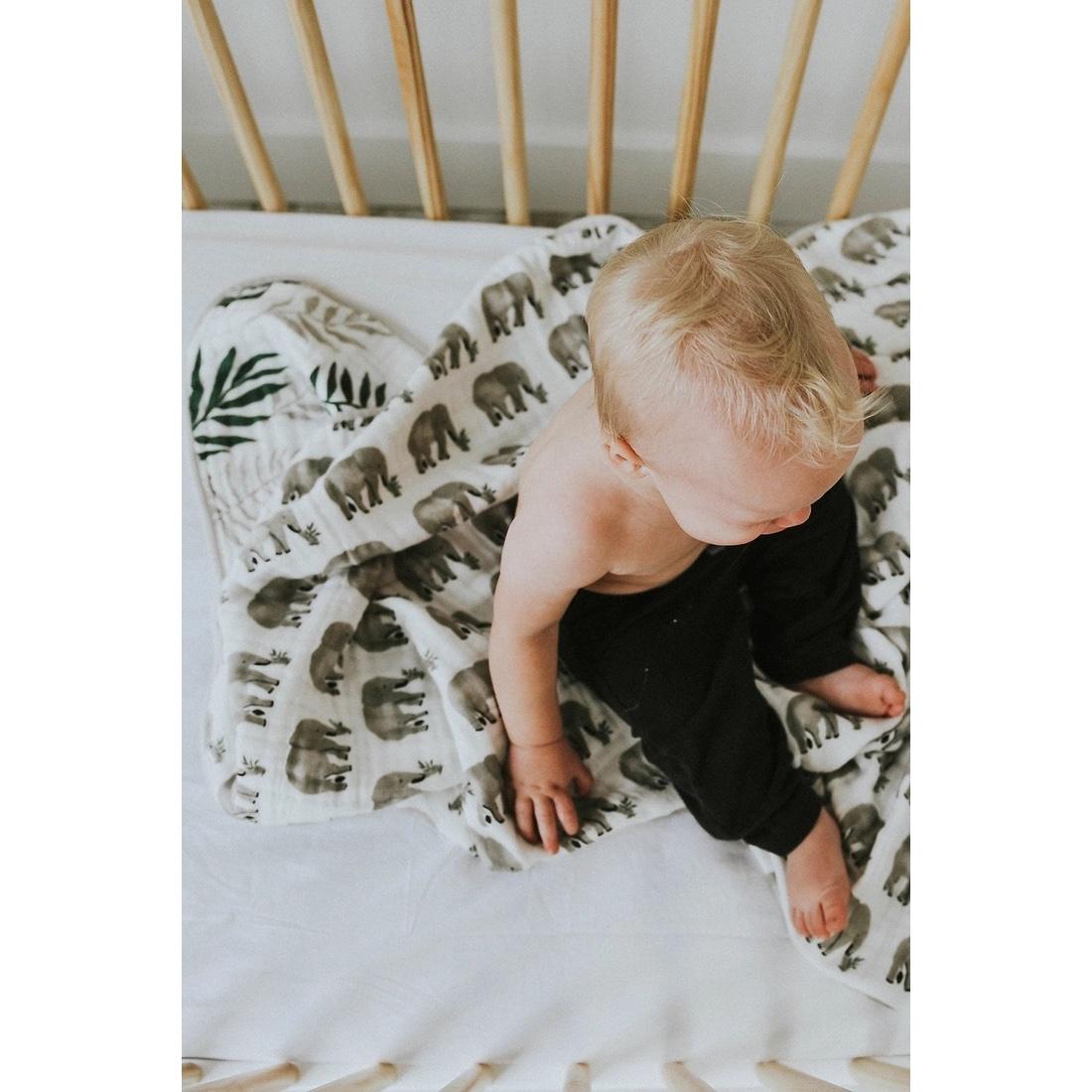 Babydecke vier Lagen Musselin